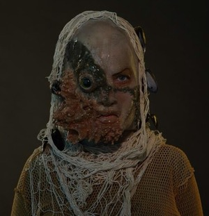 Made this silicone prosthetic from scratch by molding it. www.sarahblissmakeup.com