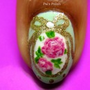 Faberge Egg nails Macro Shot