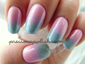 a cotton candy trio with fine silver shimmer