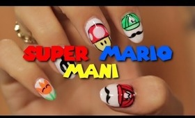 HOW TO: Super Mario Video Game Nails