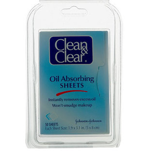 Johnson & Johnson Clear Touch Oil-Absorbing Sheets