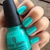Neon Turquoise.