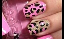 Leopard Print Nails by The Crafty Ninja