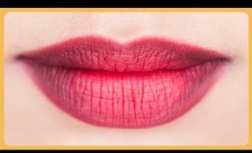 How To Get Perfect Ombre Red Lips