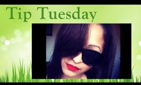 Tip Tues: Remove Long-Lasting Lipstick... With Oil?!