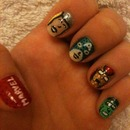 Marvel Avengers Nail Art