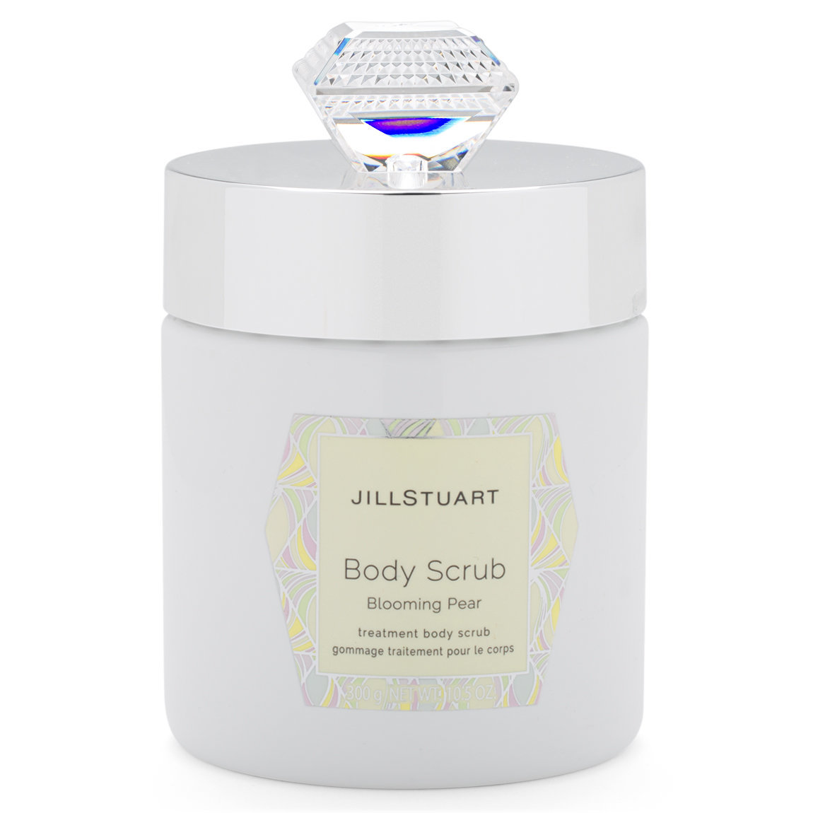 JILL STUART Beauty Body Scrub Blooming Pear product swatch.