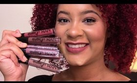 NEW Nyx Lingerie Swatches & First Impressions