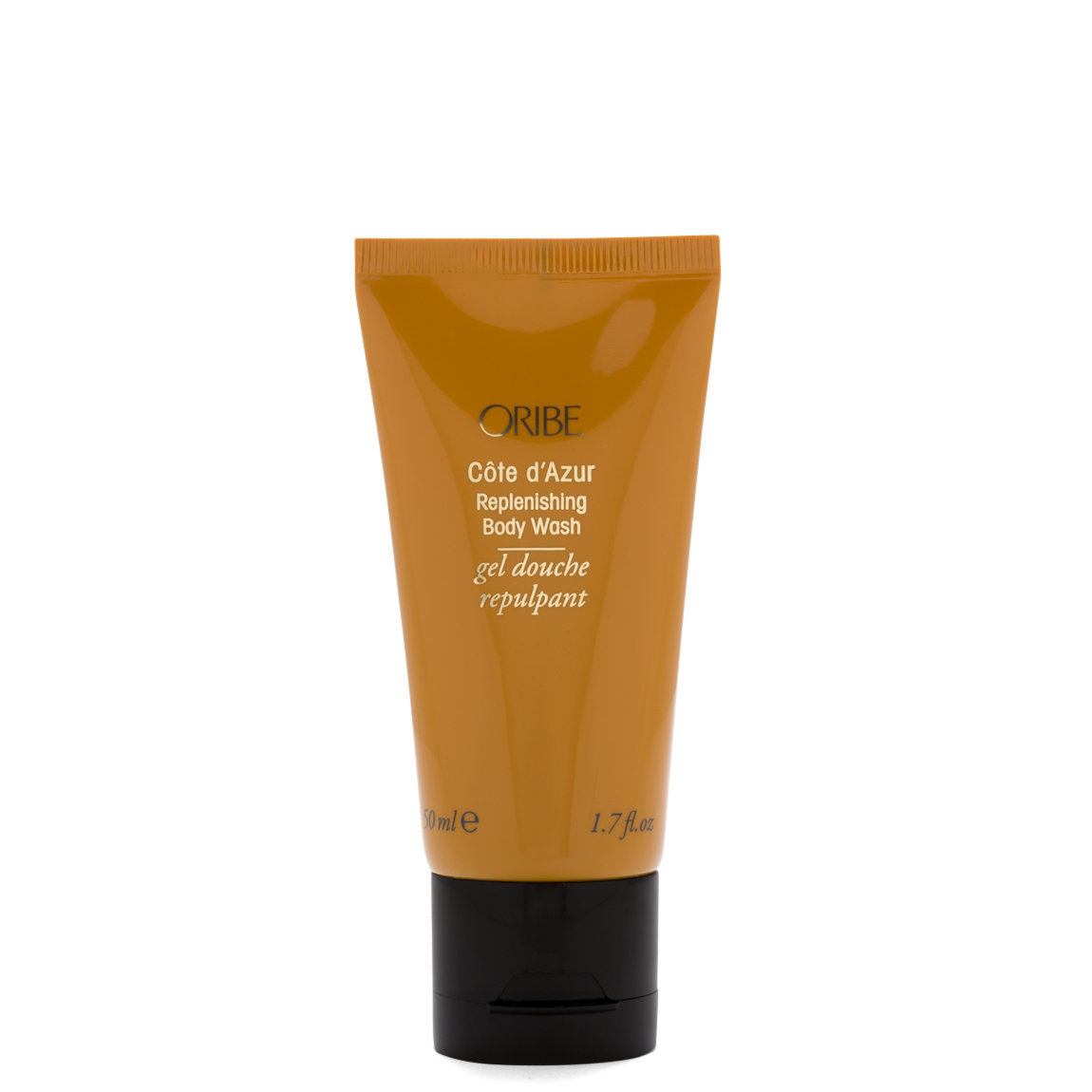 Oribe Côte d'Azur Replenishing Body Wash 1.7 oz product swatch.