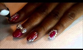 NAIL ART | Bling Out Nails