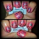 Zebra & leopard print.