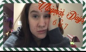 MIGRAINES AND MISHAPS | VLOGMAS DAYS 6&7 | Vlogmas 2017