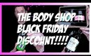 THE BODY SHOP AMAZING BLACK FRIDAY GIVE IDEAS!
