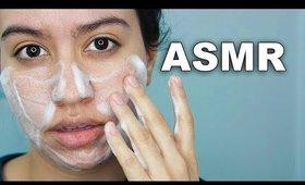 Skincare Routine ASMR — for oily skin