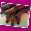 Blue Gel Mani