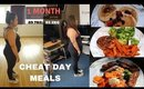 What I Eat On My Cheat Day For Weight Loss | The Vanitydoll