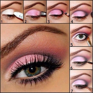 A gorgeous flirty PINK picture tutorial xx