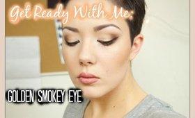 GRWM Golden Smokey Eye