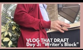 Can I actually do this?   Vlog That Draft (Day 3 - October 17)