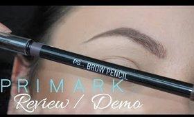 PRIMARK PS Brow Pencil REVIEW/DEMO | Danielle Scott