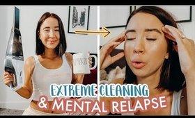 Extreme House Cleaning Motivation + Live Mental Health Struggle