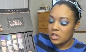 Urban Decay Alice in Wonderland BOS review and tutorial