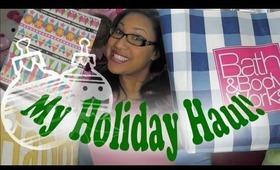 Holiday Haul..MAC LUSH +more
