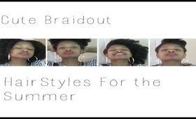 Easy Braid Out Hair Styles For The Summer