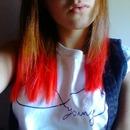 Red dip dye!