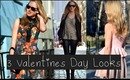 3 Valentine's Day Date Looks | Collab with NikkiPhillippi