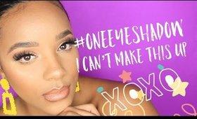 #HotGirlSummer | One Eyeshadow Glam | leiydbeauty