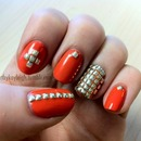 Coral and studs