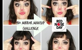 No Mirror Makeup Challenge- Comic Relief 2015