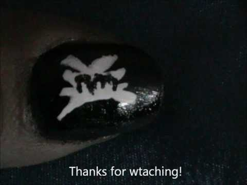 wwe  no mercy  easy nail designs for beginners short