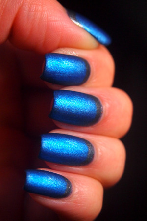 USED: OPI On Her Majesty's Secret Service and China Glaze Blue Bells Ring