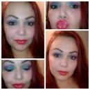 Little mermaid inspired eyeshadow!