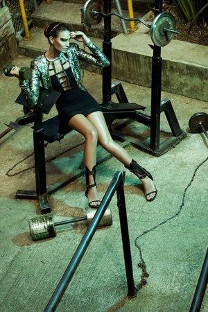 "Photographer: Sebastián Quintero. Editor & Fashion Producer: Gerson Aguilar Rojas.  Model: Aura Cuartas / AE Models. Photography Assistant: Camilo Muñoz. Art Direction: Tatiana Vera. Styling: Diana Gómez, Ana Chica and Camila Leflohic.   KEY Makeup Artist: Lina Toro (SweetPea and Fay INTERNATIONAL PRO-MUA). Hairstyle & MUA: Mauricio Restrepo.    Products Used: -'ETUI' a Lina Toro for Sweetpea and Fay -SweetPea and Fay N.Y ""Winter Collection"""