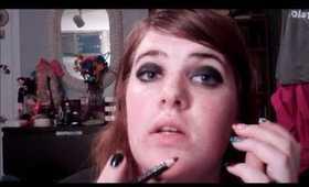 "Natalia Kills ""Mirrors"" Makeup"