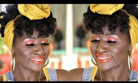 Full Face Juvia's Place Foundation and Nubian 3 Coral Tutorial