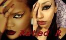 How to: Rihanna Rated R Album Cover Makeup Tutorial