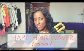 The Advanced Pro 3 Barrel Hair Waver from HARL | Review