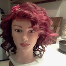 Red mannequin