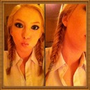 First Time Fishtail Braids!