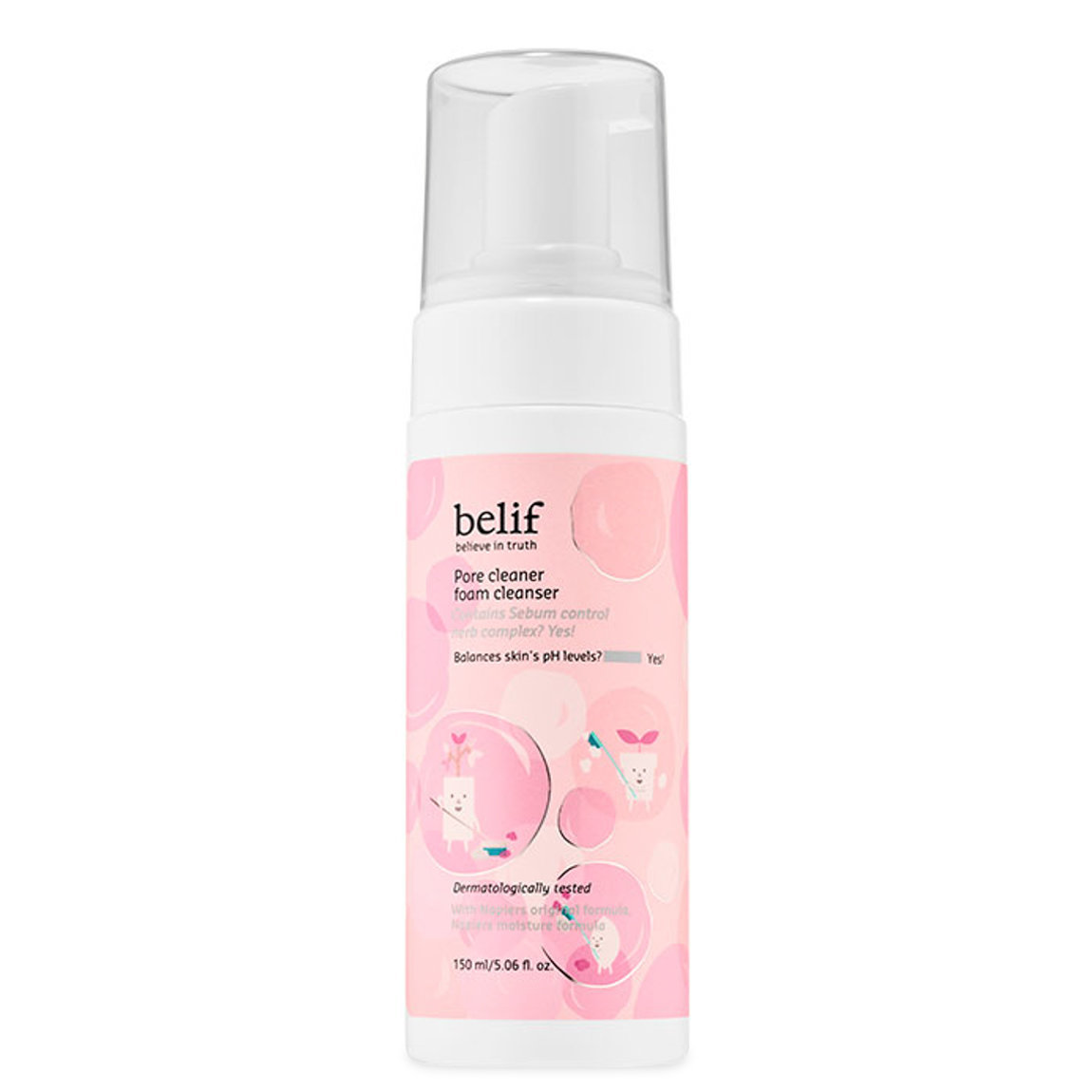 belif Pore Cleaner Foam Cleanser alternative view 1 - product swatch.