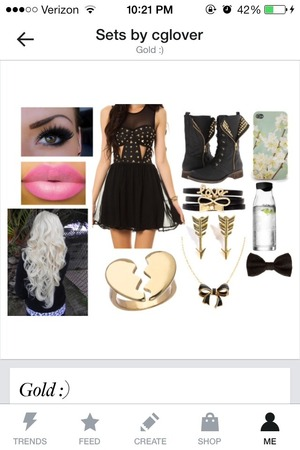 Clothes set made by me on polyvore.com