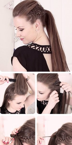 Im a total hair freak and I love this style.