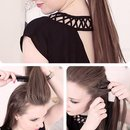 Super cute hair style!