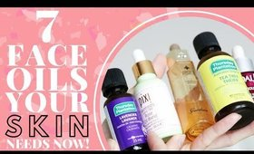 These FACIAL OILS Will Solve All Your Skin's Problems!