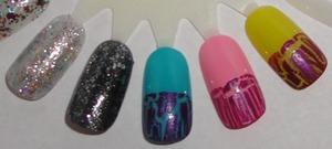 Nicki Minaj by OPI swatches. video review here- http://www.beautylish.com/v/rprpyv/nicki-minaj-by-opi-haul-and-reveiw