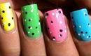 Cute Dots Nail Art Designs - For Beginners